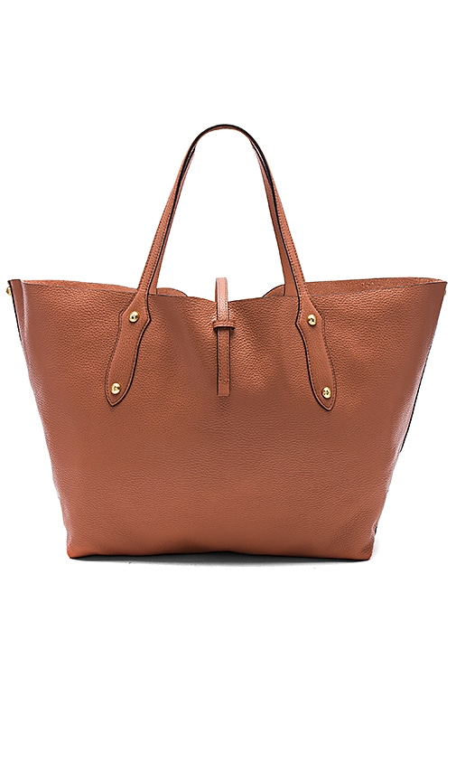 Annabel Ingall Isabella Large Tote in Peach