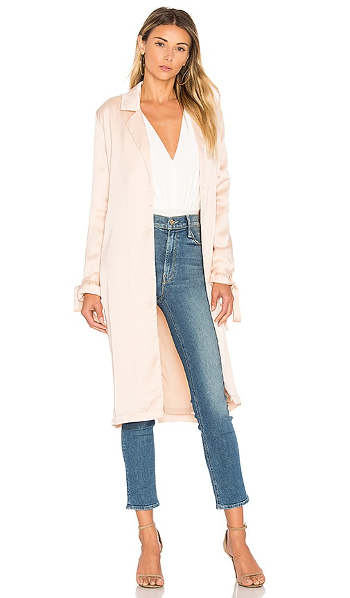 AIRLIE Paris Trench in Blush