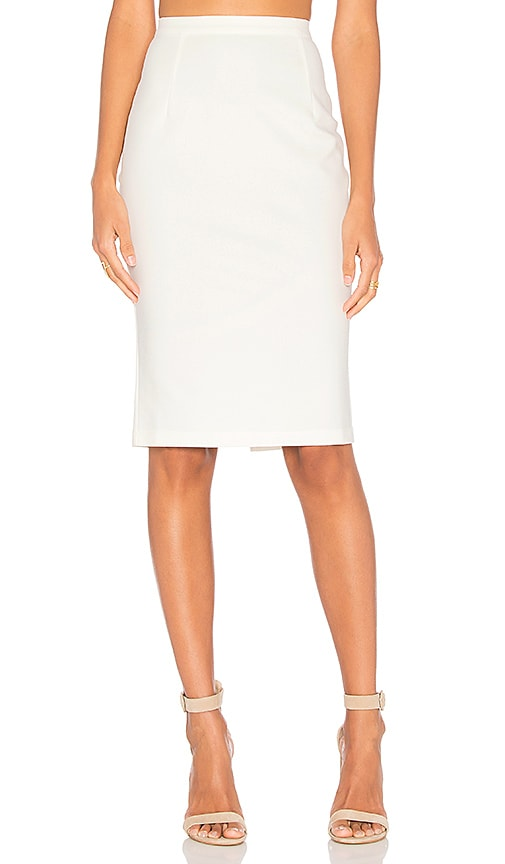 AIRLIE Kamille Skirt in White