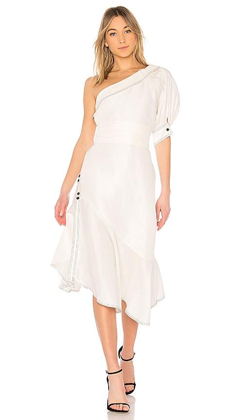 Aje Amatae Dress in White