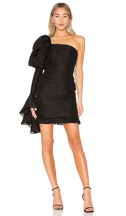 Aje Olearia Dress in Black