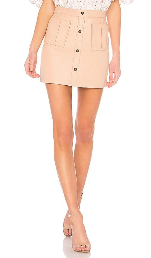 e970339b62 Aje Shrimpton Mini Skirt in Blush | REVOLVE