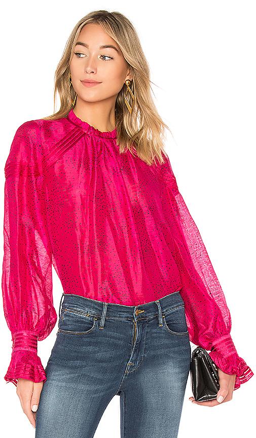 Aje Tamarics Blouse in Pink