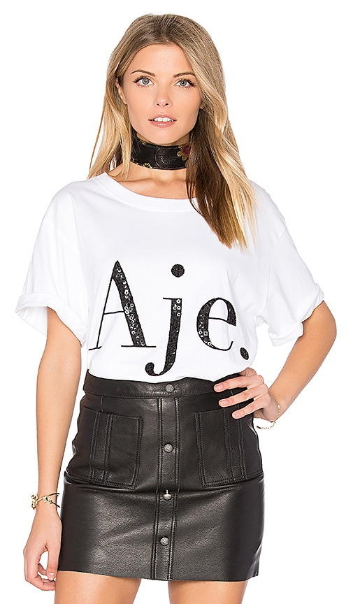 Aje Aje Tee in White