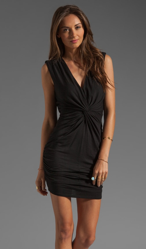 Twisted Front Dress