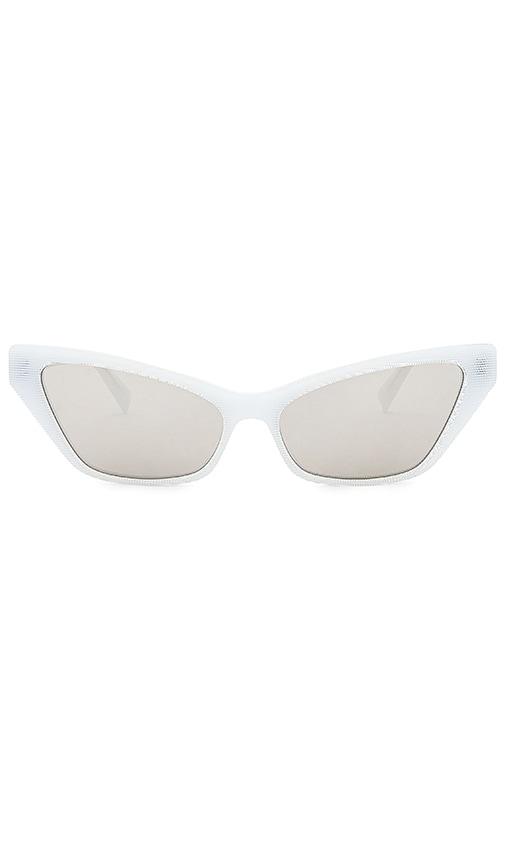 Alain Mikli White LE MATIN Sunglasses