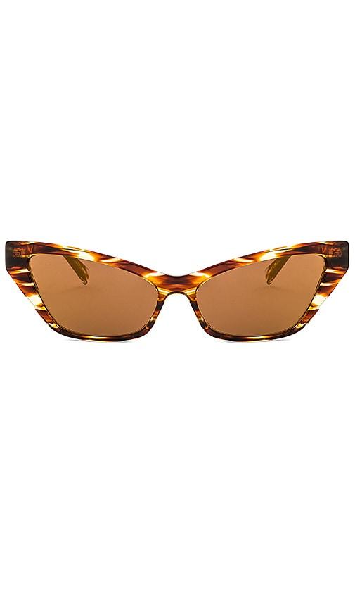 Alain Mikli Havana Tortoise LE MATIN Sunglasses
