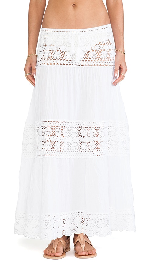 Filigree Maxi Skirt