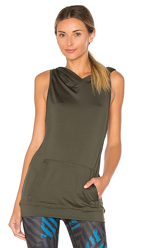 ALALA Twist Back Tank in Army