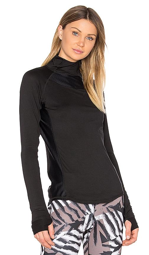 ALALA Charge 1/4 Zip Top in Black