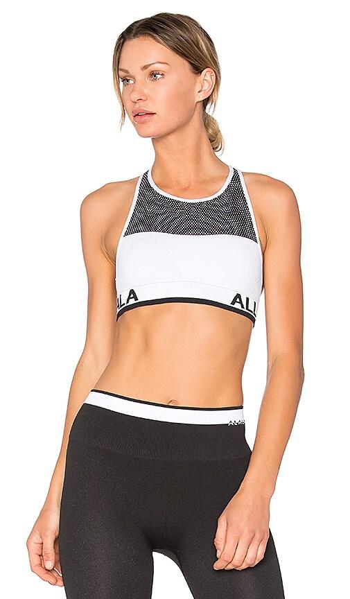ALALA Ace Seamless Bra in White