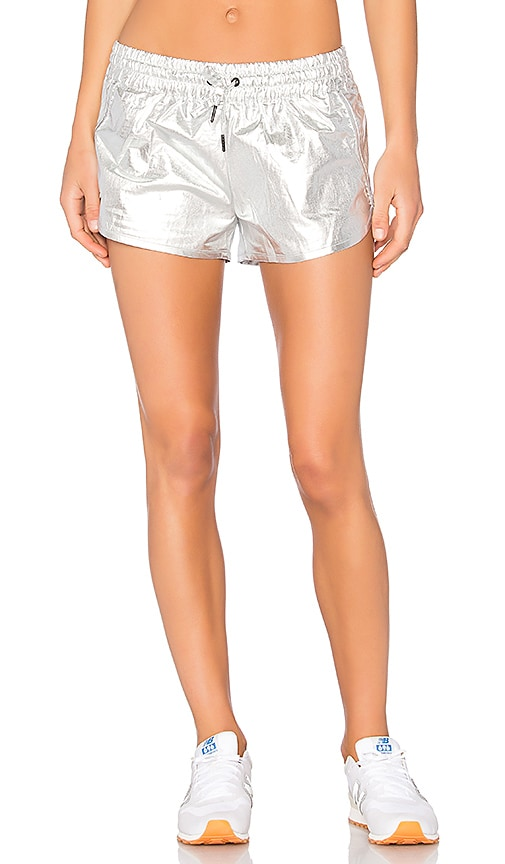 ALALA Fuel Short in Metallic Silver