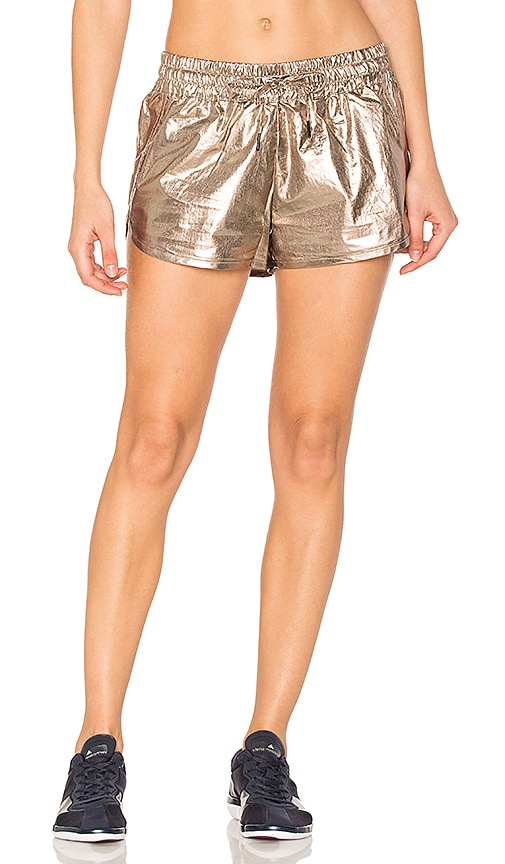 ALALA Fuel Short in Metallic Gold