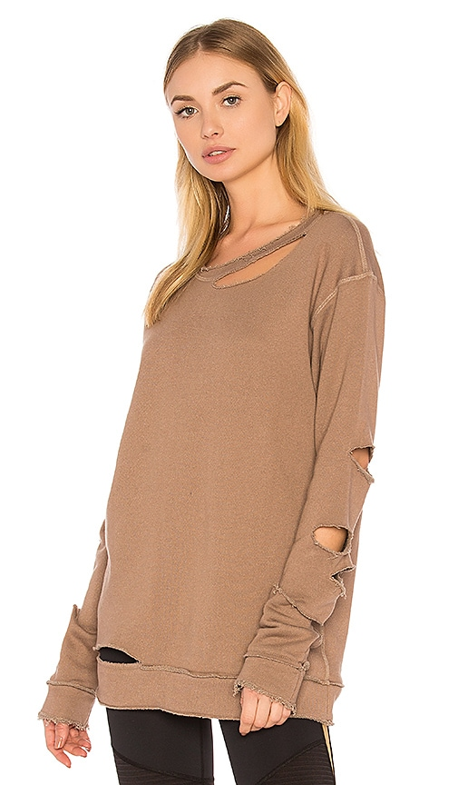 ALALA Cypher Sweatshirt in Brown