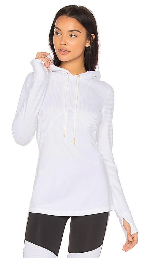 ALALA Flyweight Hoodie in White
