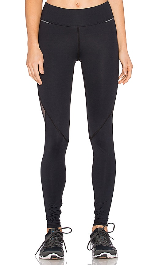 ALALA Ankle Tight Legging in Black & Metallic