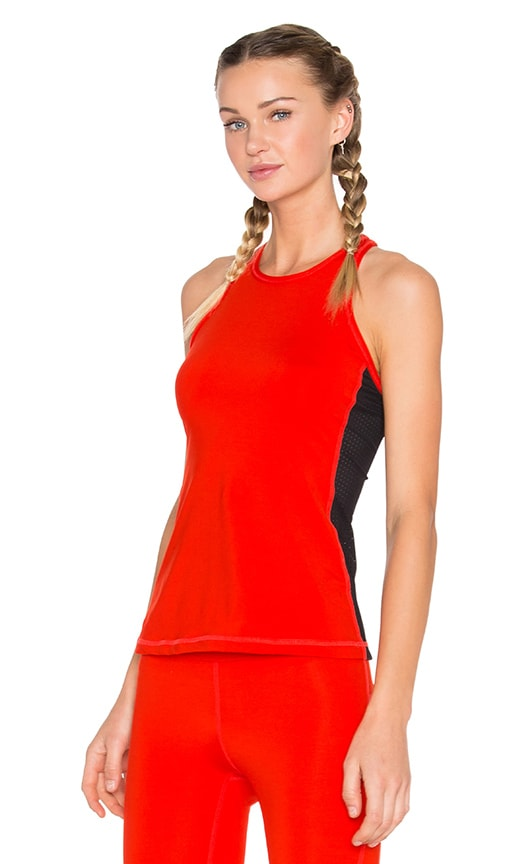 ALALA Racer Tank in Fiery Red