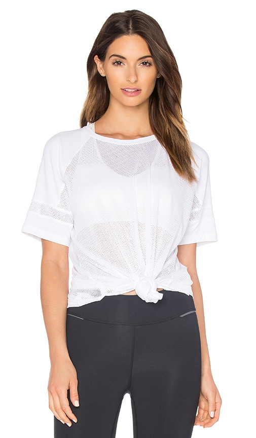 ALALA All Day Mesh Jersey in White