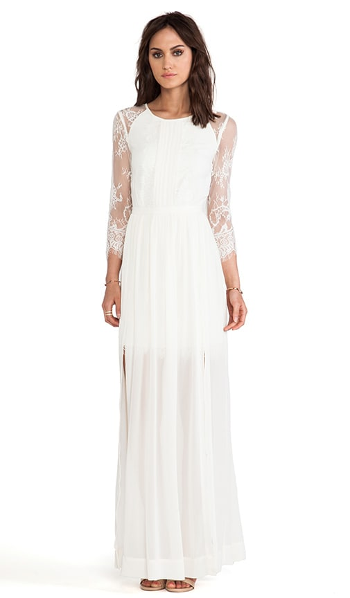 Long Hemingway Lace Back Dress