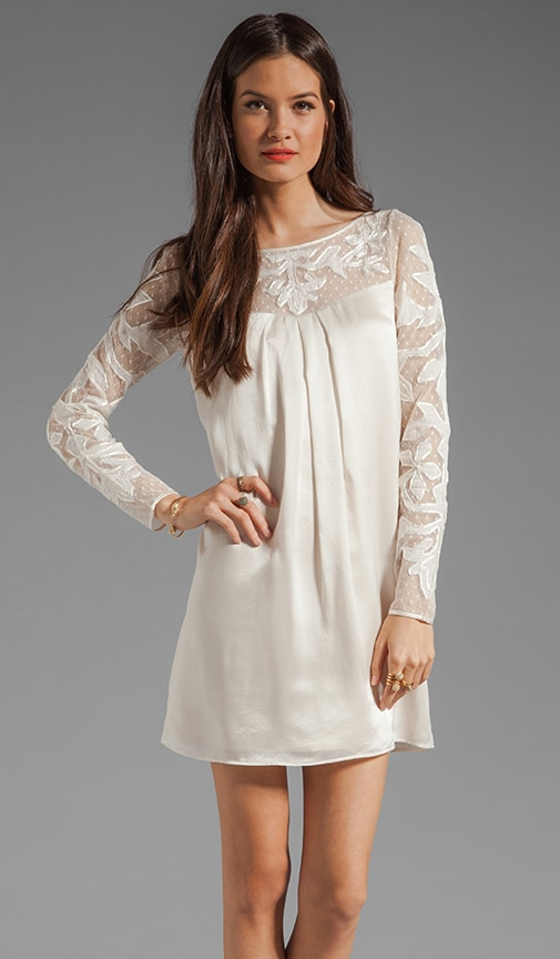 Floria Long Sleeve Tunic Dress