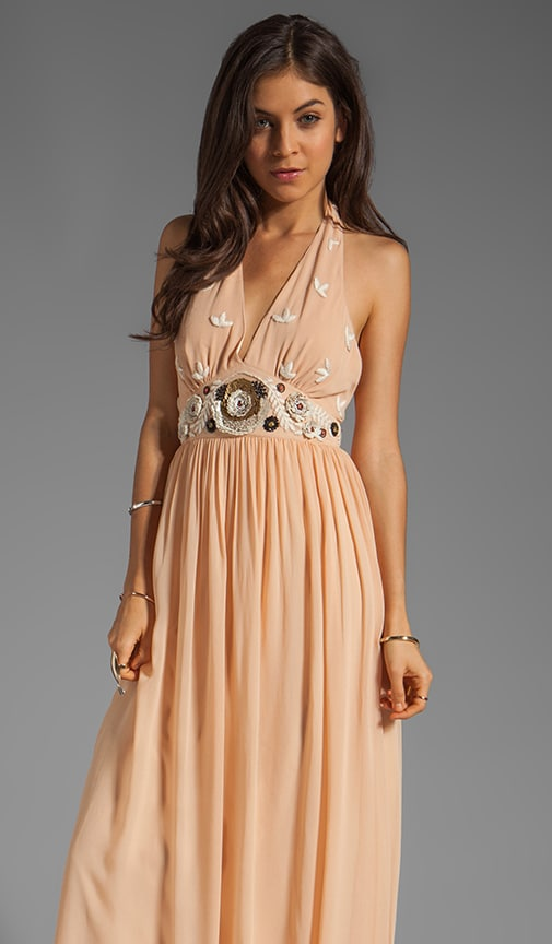 Long Fonteyn Halter Dress