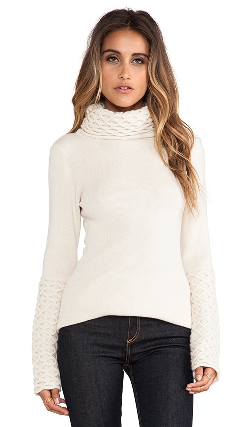 Honeycomb Turtleneck Tunic