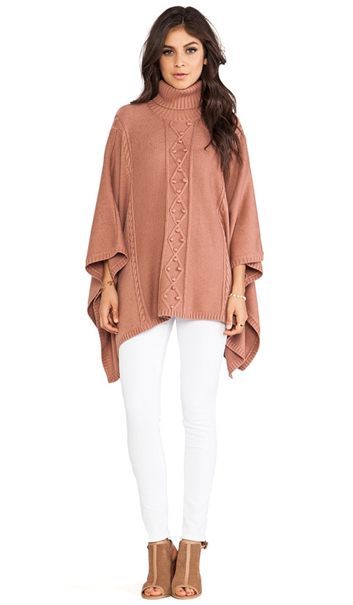 Octavia Knit Cape