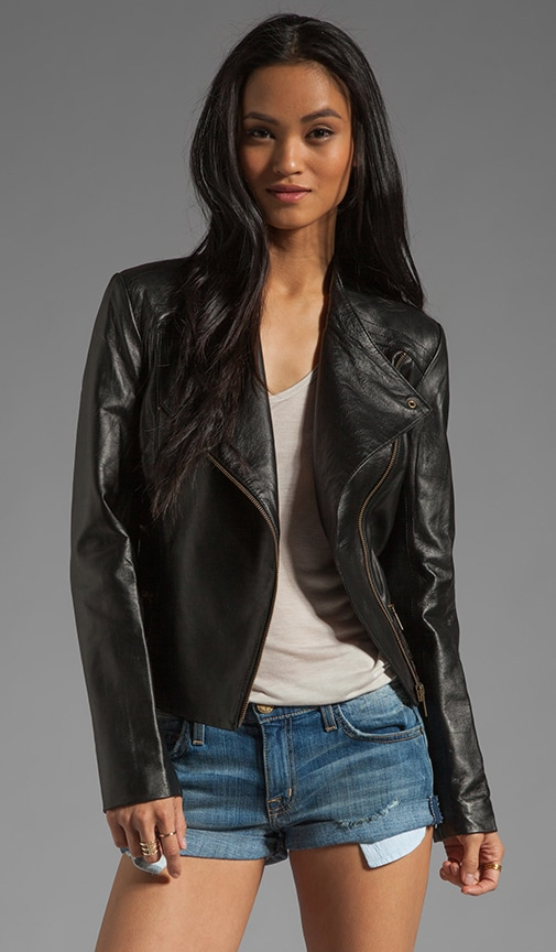 Valois Leather Jacket