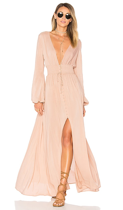 ale by alessandra x REVOLVE Eduarda Maxi Dress in Nude