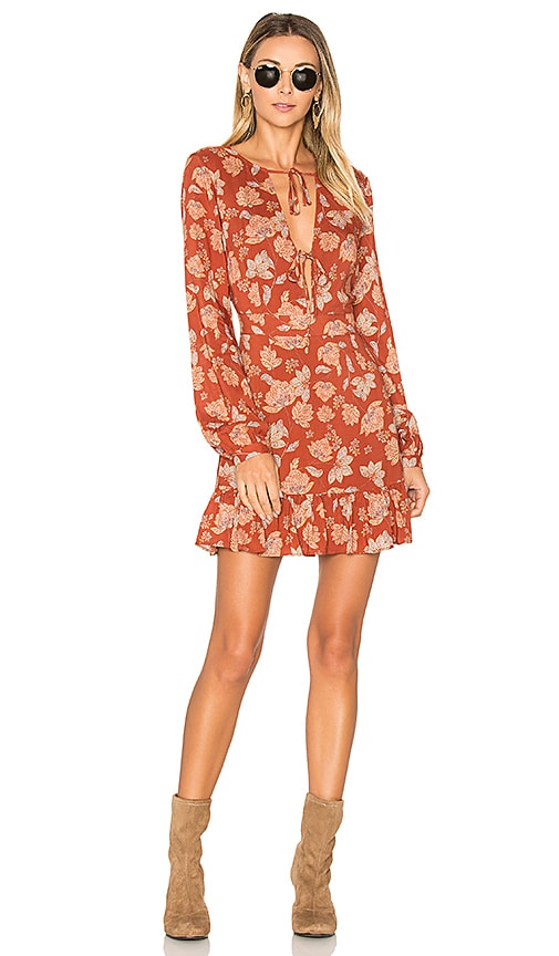 ale by alessandra x REVOLVE Aurora Dress in Burnt Orange