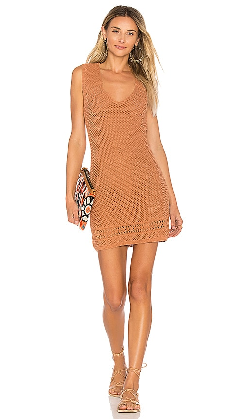 ale by alessandra Antonia Knit Dress in Tan