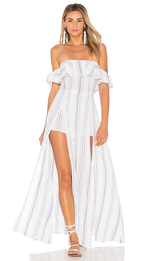 ale by alessandra Betina Maxi Dress in White