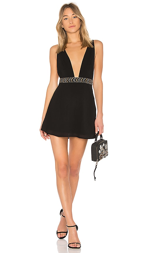 ale by alessandra x REVOLVE Iria Embellished Dress in Black