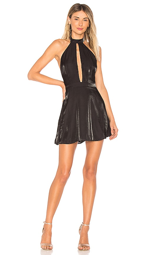 x REVOLVE Jaqueline Dress in Black. - size S (also in M,XS)