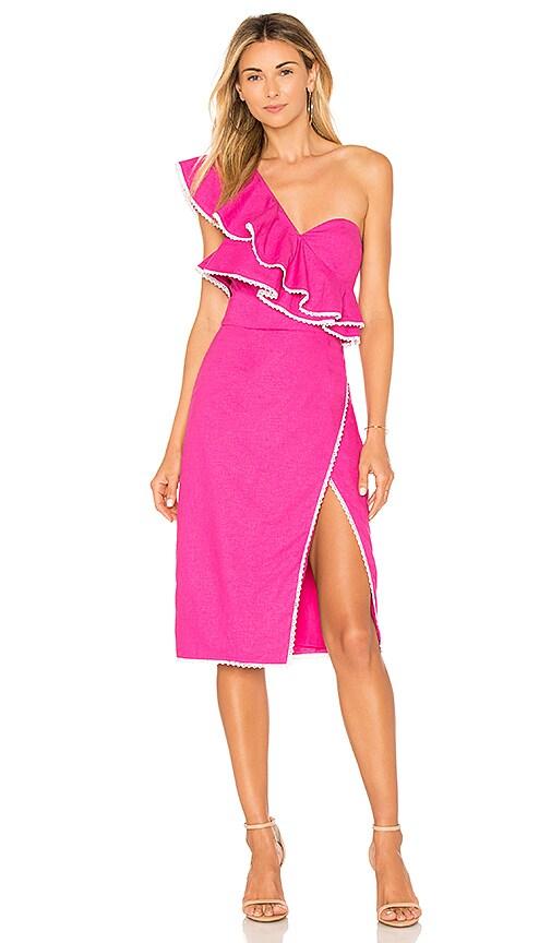 ale by alessandra x REVOLVE Magdalena Dress in Fuchsia