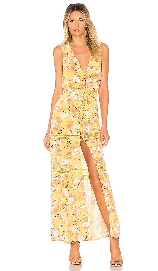 ale by alessandra x REVOLVE Juliana Maxi Dress in Yellow