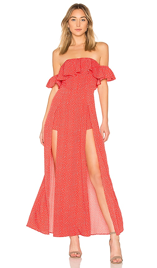 ale by alessandra x REVOLVE Betina Maxi Dress in Red
