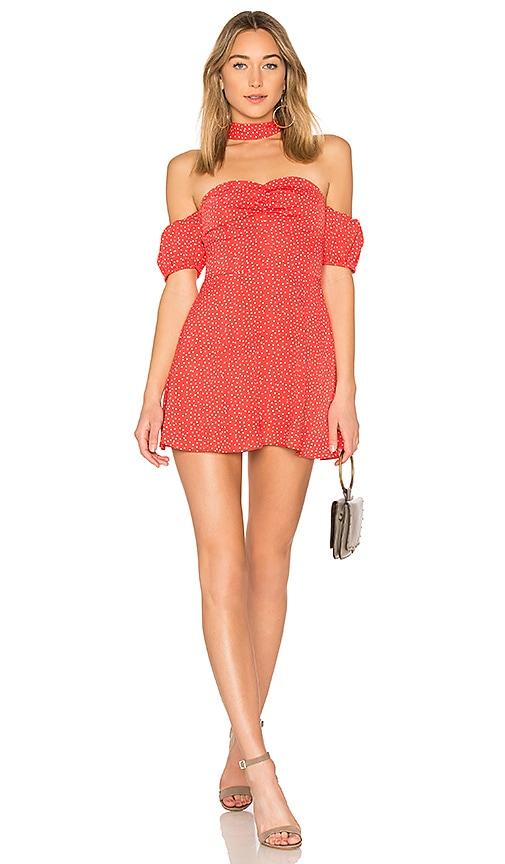 ale by alessandra x REVOLVE Luna Mini Dress in Red