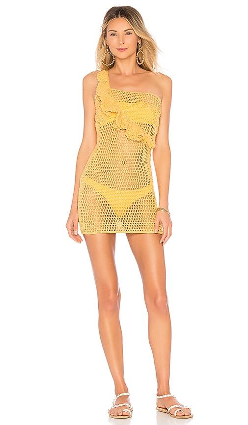ale by alessandra x REVOLVE Analu Mini Dress in Mustard