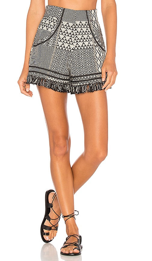 ale by alessandra Daniela Shorts in Black & White
