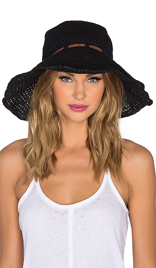 ale by alessandra Nikki Hat in Black