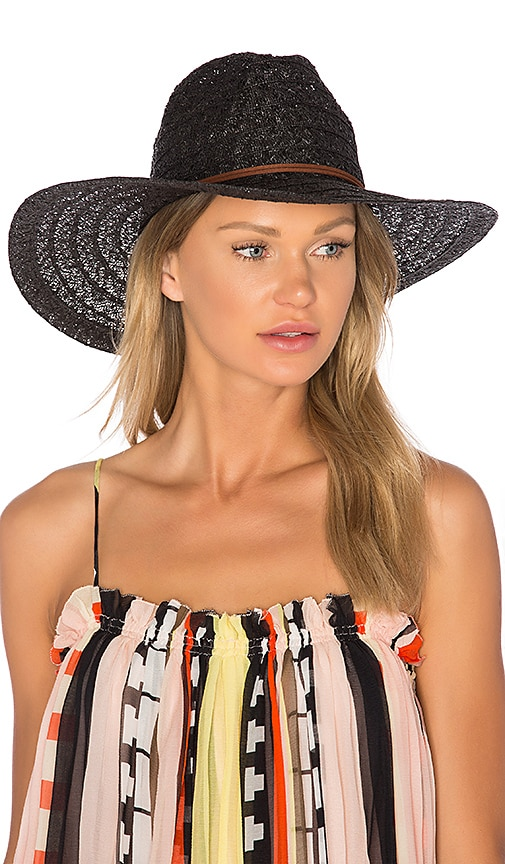 ale by alessandra Prescott Hat in Black