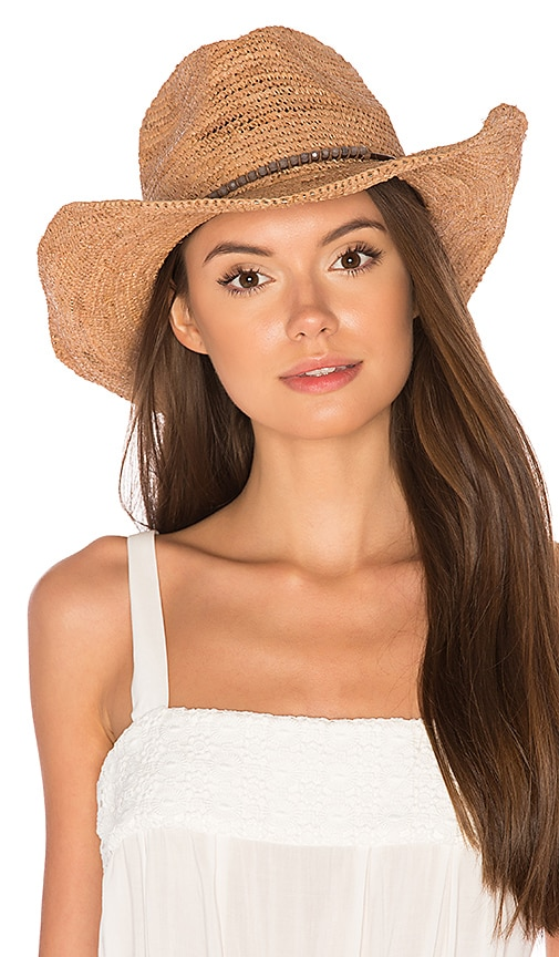 ale by alessandra Cassidy Hat in Beige