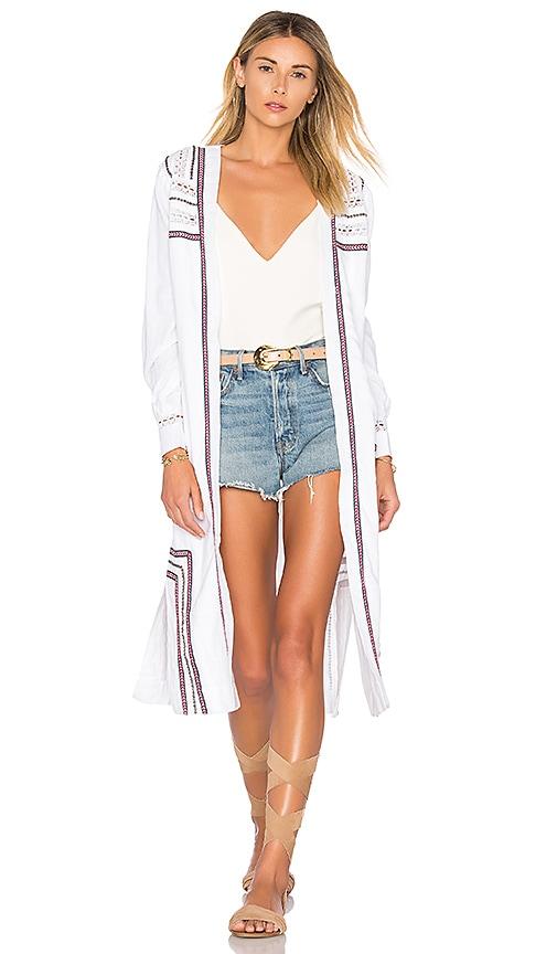 ale by alessandra Mayara Coat in White