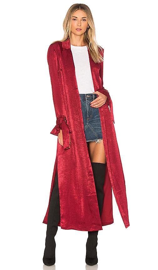 ale by alessandra x REVOLVE Catalina Jacket in Wine