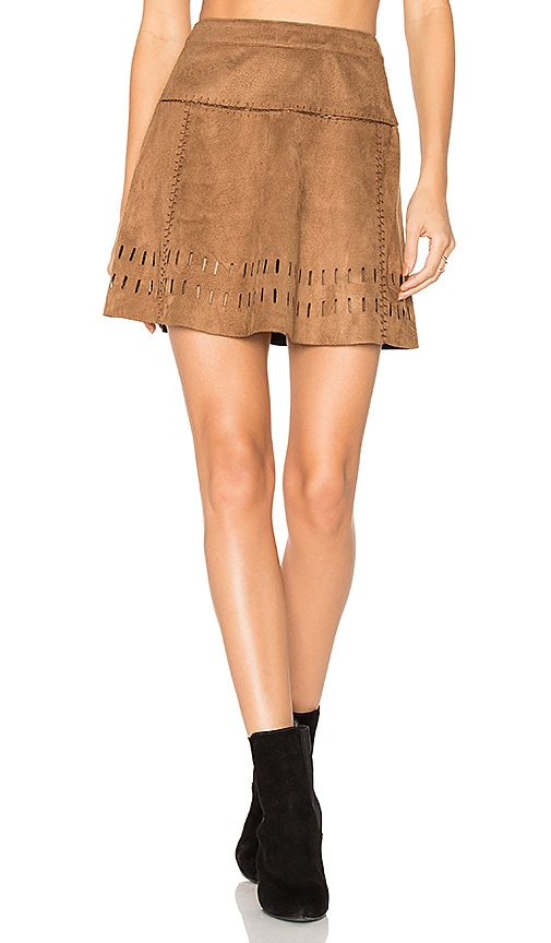 ale by alessandra x REVOLVE Mayte Skirt in Brown