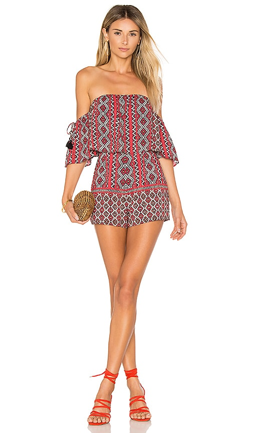ale by alessandra x REVOLVE Gerarda Romper in Red