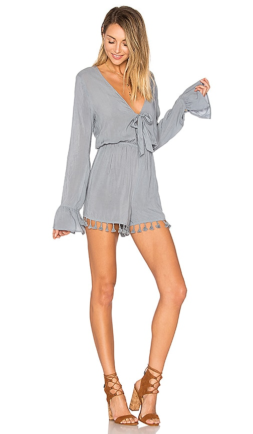 ale by alessandra Livia Romper in Slate