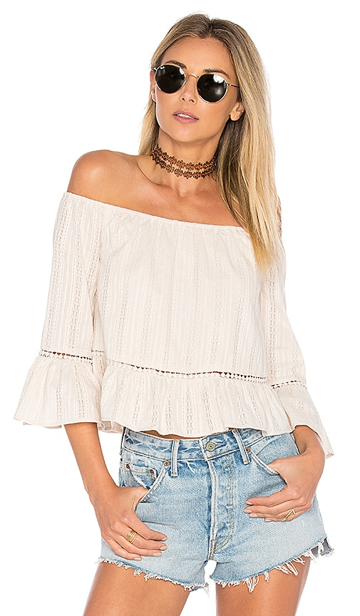 ale by alessandra Fernanda Top in Ivory