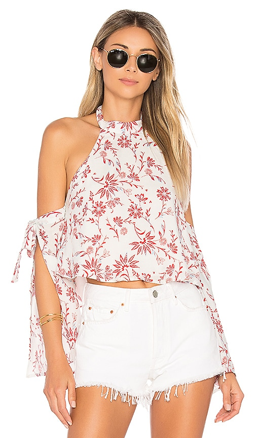 ale by alessandra Malika Halter Top in White